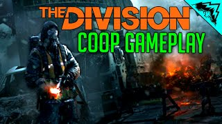 Division Gameplay CO-OP Walkthrough Gameplay #2 - Squad Leveling up and Missions