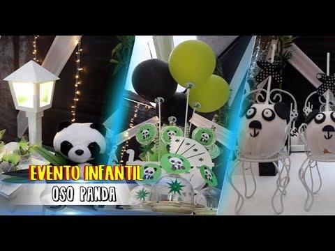 Evento Infantil Tematica Oso Panda Decoraciones Versalles 2018