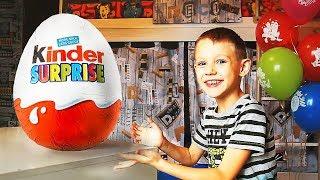 DIY   Как сделать Огромный Шоколадный КИНДЕР Сюрприз Kinder своими руками