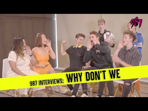 987 Interviews Why Don't We