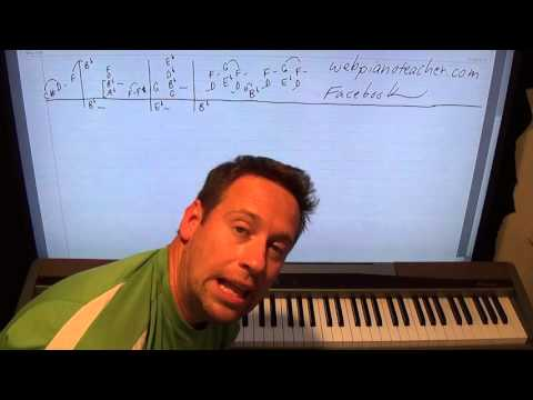 How To Play Piano Blues In B Flat - Killer Piano Solo!