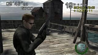 [TAS] RESIDENT EVIL 4 - THE MERCENARIES - Wesker (All Stages) (GC)