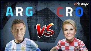 El Destape Mundial | El Mundial de Presidentes: Argentina vs. Croacia