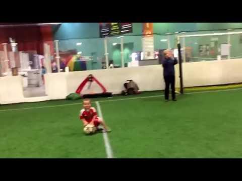 Zak Choumil Soccer Practice w Moroccan National Jersey April 2016