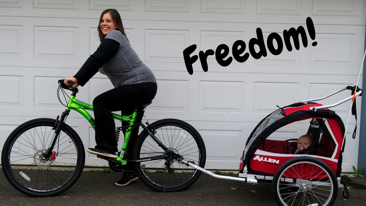 Allen Sports Bike Trailer