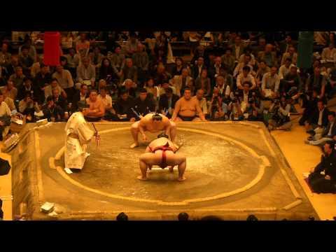 Sumo Wrestling 2014 05 21 Tokyo Japan