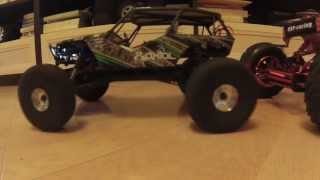 Axial Wraith vs Axial Honcho and vs HSP Climber
