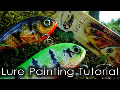 Lure Painting Tutorial - Episode 2 - Perch.