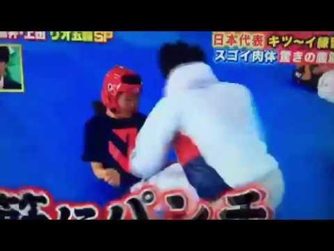 濱田真由(テコンドー)が腹筋をタコ殴りにされる衝撃映像ww宮川紗江選手のキツイ練習にもビビるwww