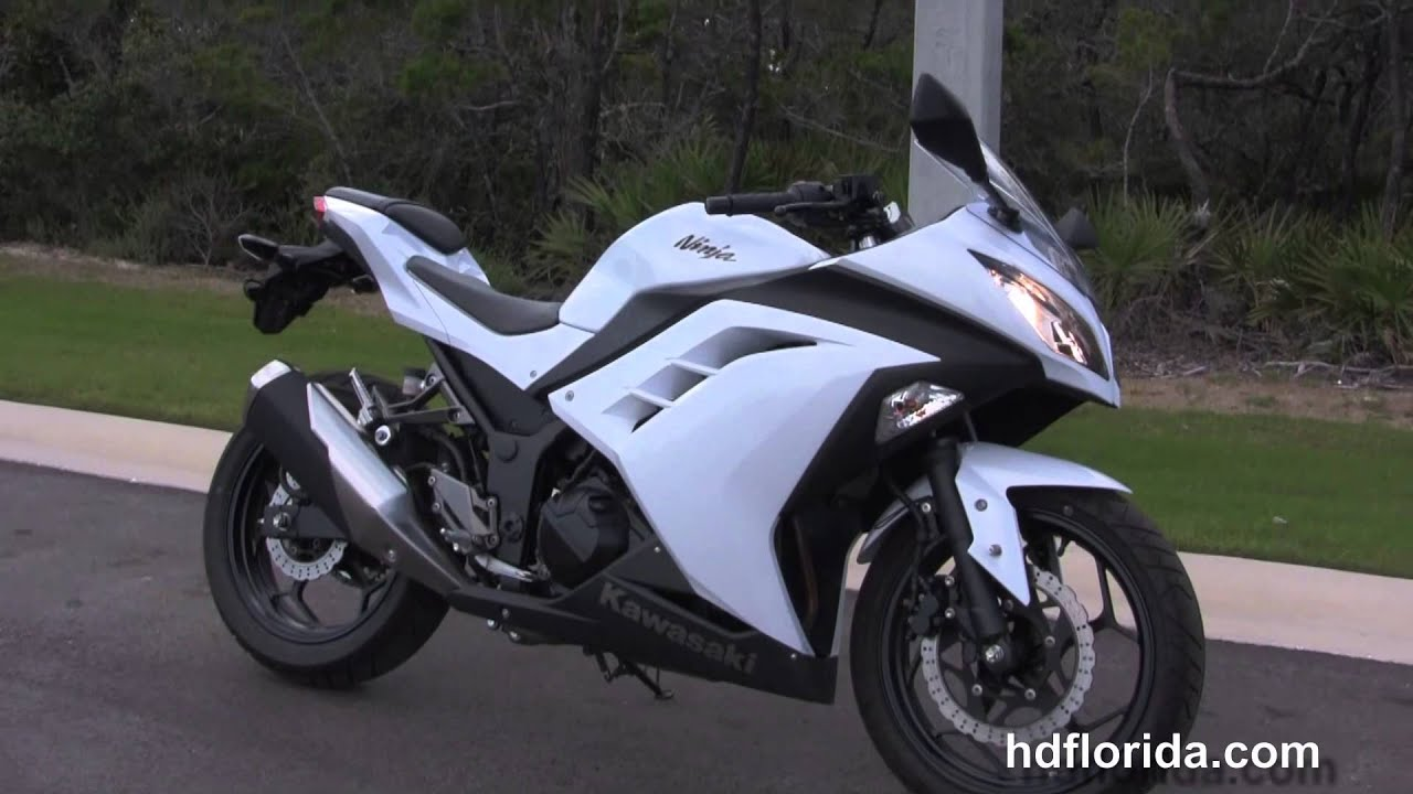 used 2013 kawasaki ninja zx300r motorcycles for sale - youtube