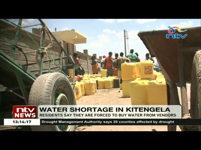 Kitengela residents grapple with water shortage    Drought crisis