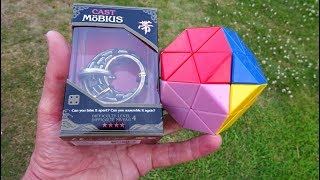 Puzzle Master - Gem Cube & Cast Mobius by Hanayama