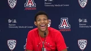 Arizona Basketball Press Conference - Dalen Terry