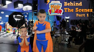 Behind The Scenes of Calvin Kaison's Play Power Nickelodeon Show PART 1 CKN