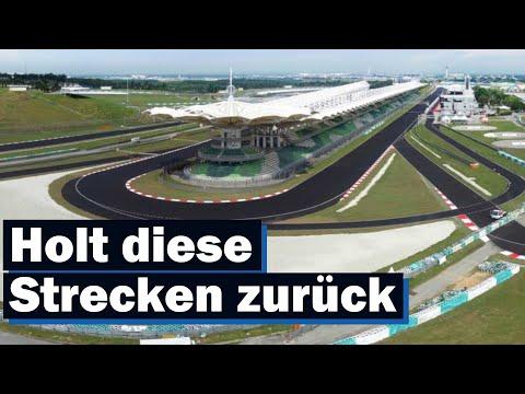 5  Formel 1 Strecken, Die Zurück Kommen Sollen!