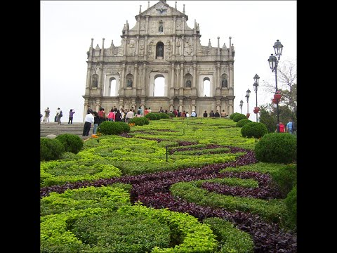 Travel China - Ruins of the Church of St Paul Macau Peninsula
