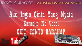 karaoke tem.bang kenangan Trio elexis Aku ingin cinta yang nyata karaoke
