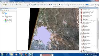 ESRI ArcGIS Extract by Mask (Clipping Raster using Polygon Shp File)