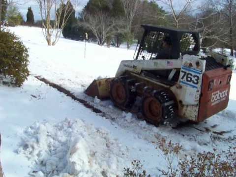 Tractiontracks In Snow Traction Tracks Skid Steer Tracks Pc Sales