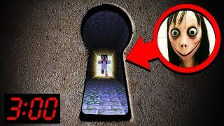 DON'T LOOK at THIS DOOR 3:00 am! NOOB vs PRO! Challenge 100% trolling in Minecraft Animation!