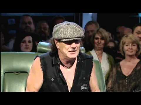 AC/DC Brian Johnson interview, Top Gear