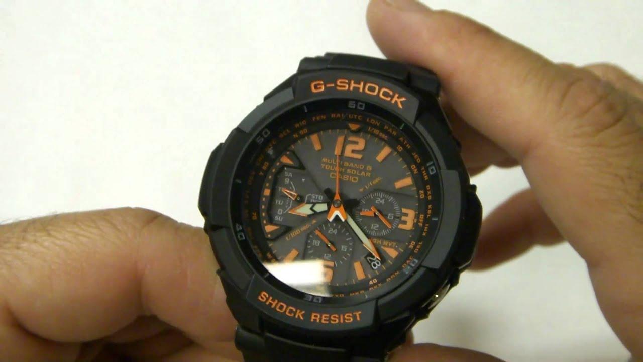 Review of the Casio G Shock GW 3000B 1A Aviator Watch in HD