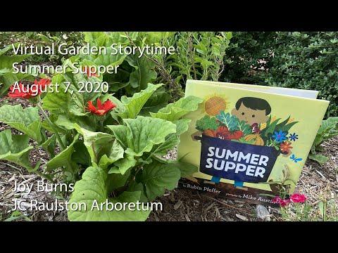Virtual Garden Storytime - Summer Supper
