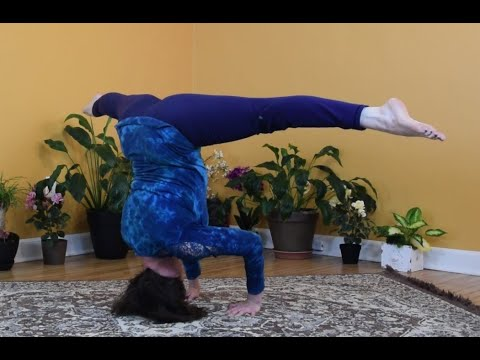 triyoga vshoulderstand and tripod vheadstand flow  youtube