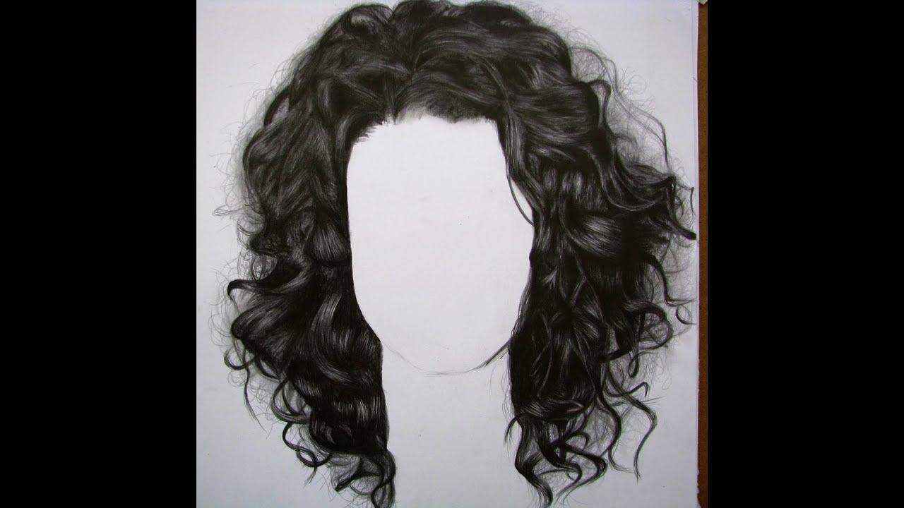 C 243 Mo Dibujar Cabello Chino Quebrado How To Draw Curly