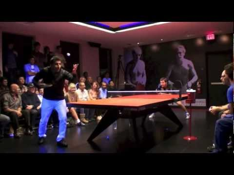Timo Boll vs Subal Mehta.