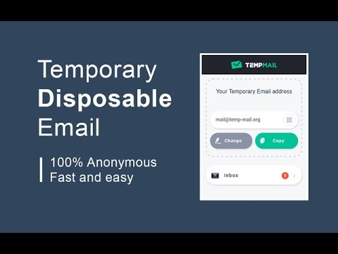 Temporary Disposable Email App Review.