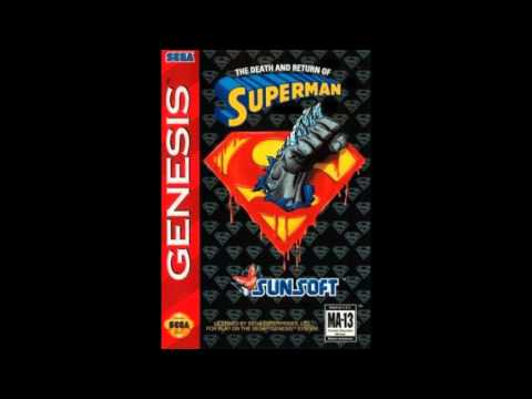 The Death and Return of Superman Sega Genesis music-Boss Battle
