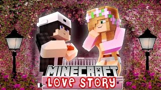 LITTLE KELLY SAYS YES TO GO ON THE MOST AMAZING DATE WITH RAVEN | Minecraft LOVE STORY |  custom