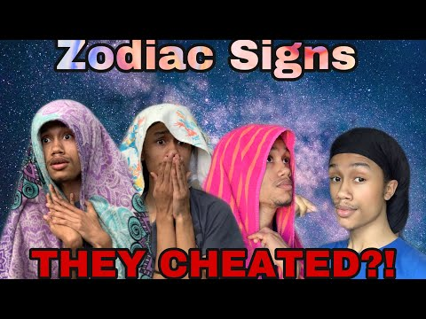 Zodiac Signs Reaction To Being Cheated On (Comedy)