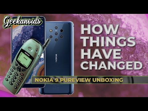 Nokia 9 PureView Unboxing & First Look - LIVE