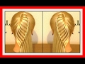 SIDE WATERFALL PONY TAIL HAIRSTYLE / HairGlamour Styles /  Hairstyles