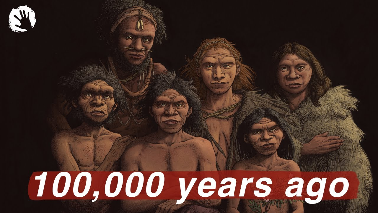 Humanity 100,000 Years Ago - Life In The Paleolithic
