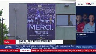"""Strasbourg : """"Faire le nécessaire demain avant de penser à Francfort"""" estime un supporter"""