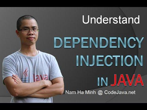 Understand Dependency Injection in Java