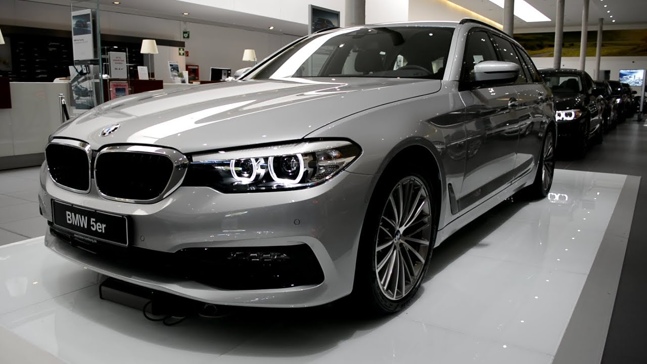 2017 New Bmw 5 Series 520d Touring Exterior Youtube