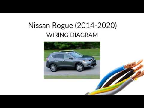 nissan rogue ii (2014 - ) wiring diagram harness, manual and schemes -  youtube  youtube