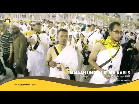 Kita bisa lihat di video ini, sangat menyentuh sekali saat melepas anggota keluarga untuk pergi Umra.