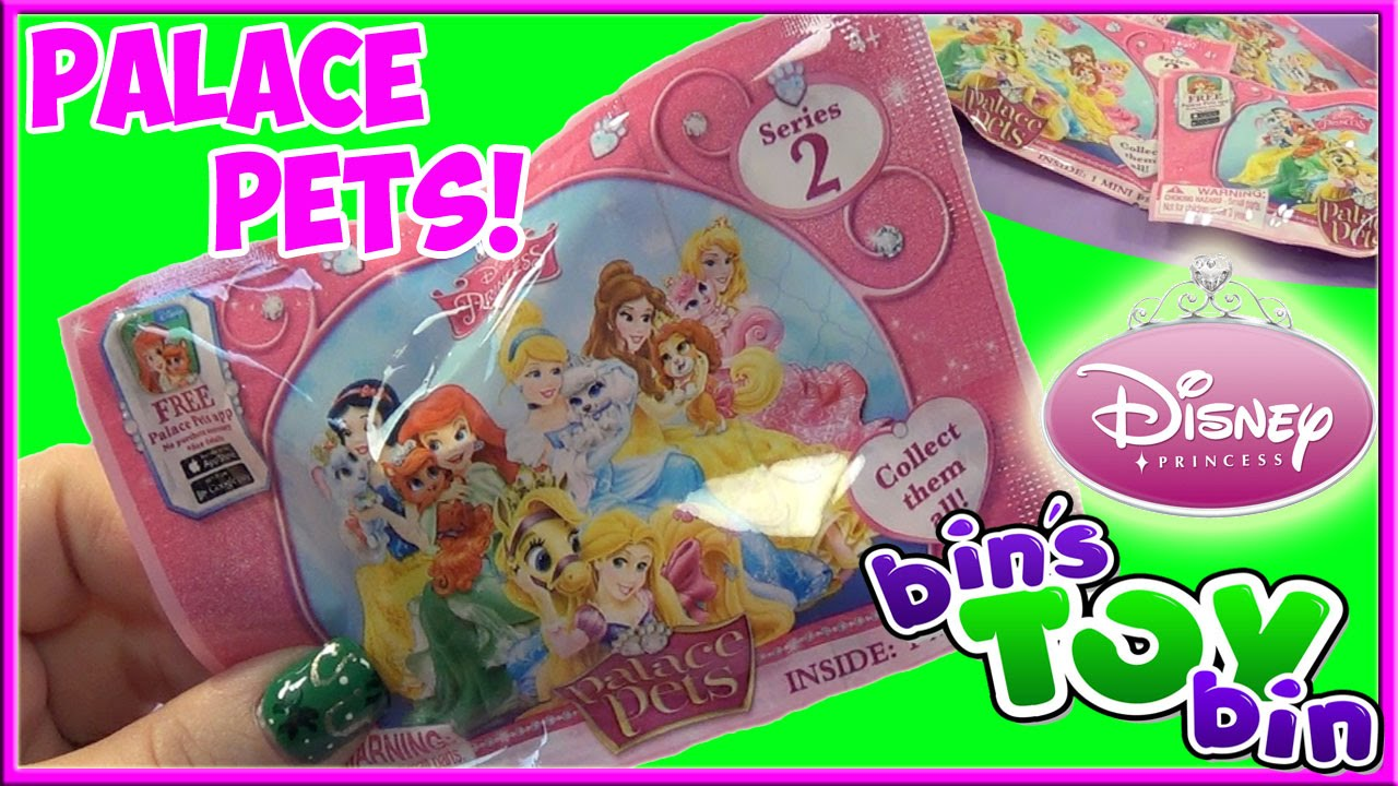 Disney Princess Palace Pets Series 2 Blind Bags Opening By
