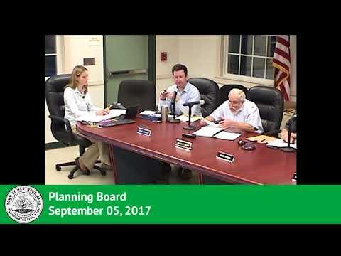 Planning Board 09/05/17
