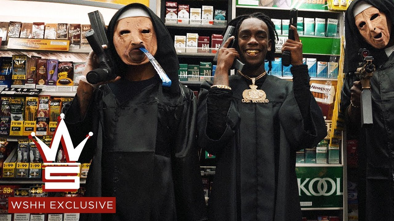 30 Days After Being Released From Jail, Buzzing Hard From Gifford, FL: YNW Melly - Virtual (Blue Balenciagas)