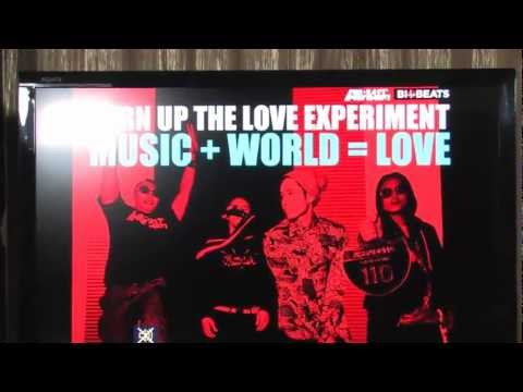 Far East Movement : Turn Up The Love Experiment (Jan 24.2013)
