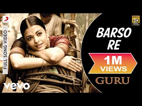 A.R. Rahman, Shreya Ghoshal, Uday Mazumdar - Barso Re (Full Song Video)