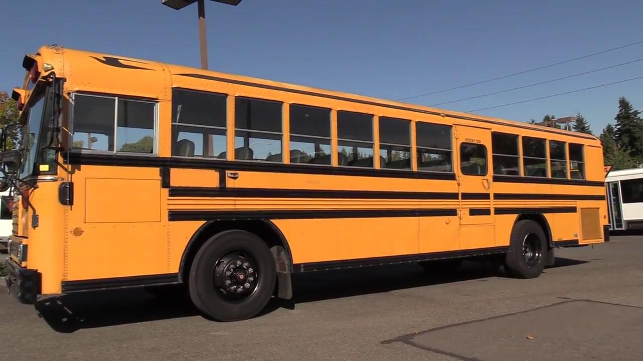1994 Bluebird TC2000 72 Passenger School Bus - B54830