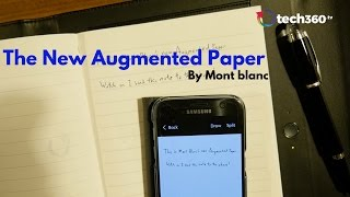 The New Augmented Paper by Mont Blanc
