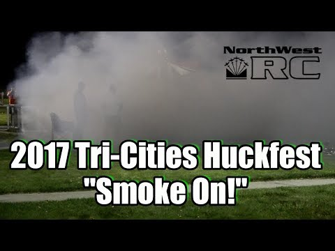 Crazy Smoke Show at the Tri-Cities Huckfest  2017